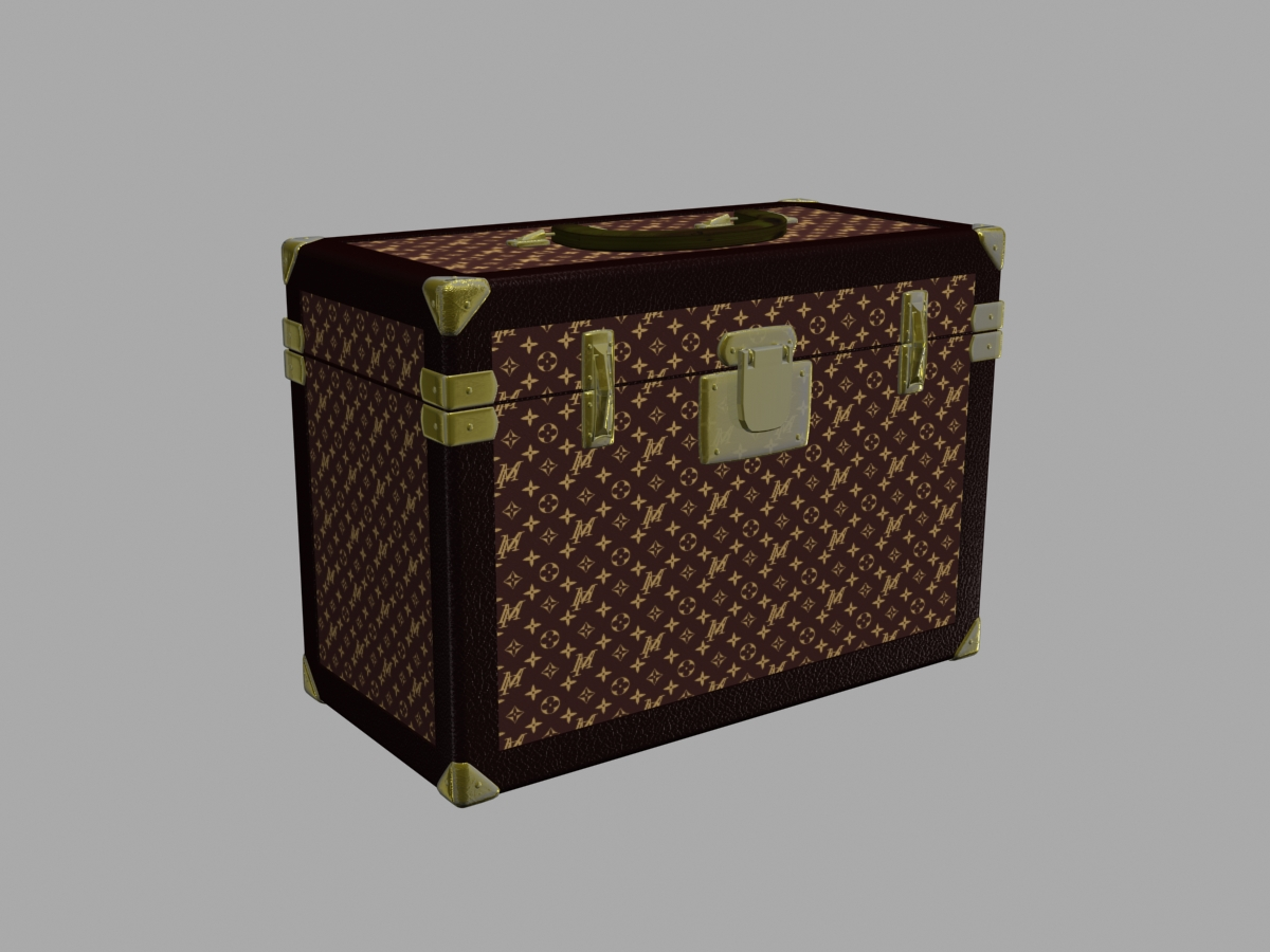 louis vuitton 3d model