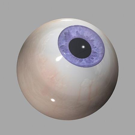 eye 3d model   firedream