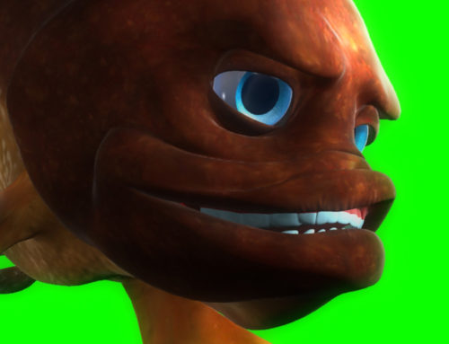 TV: The first italian edu-fiction in favour of the marine environment 'sea' lessons with the 3D fish created by @firedream79