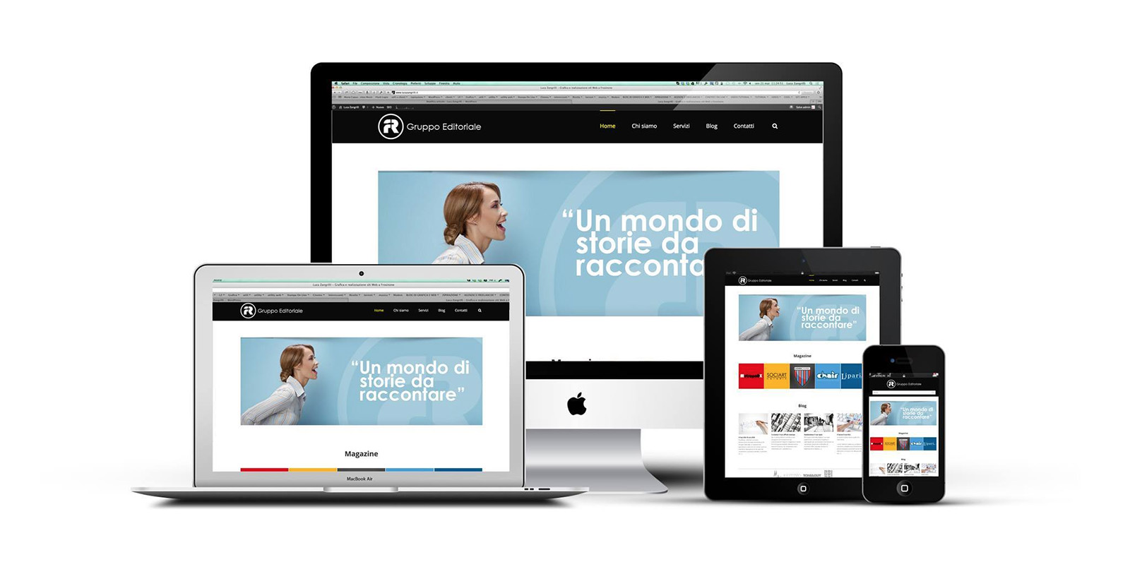 FR Gruppo Editoriale website